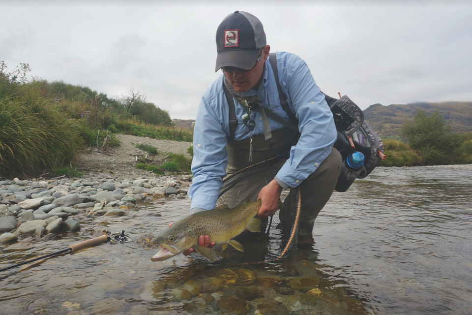 Jake Ricks Fly Fishing in New Zealand
