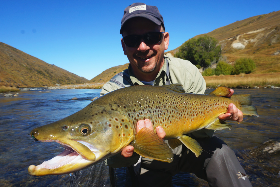 Bryan's Big New Zealand Brown Trout
