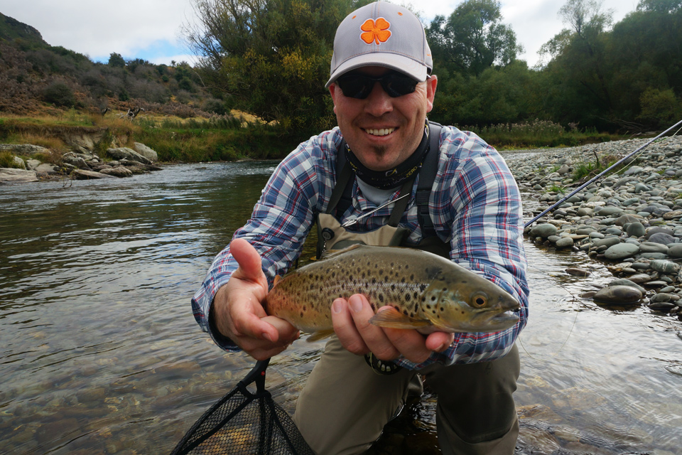 Brown Trout in New Zealand