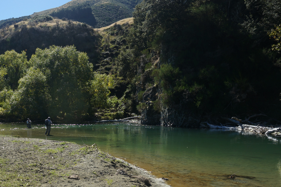 Pool in the River, New Zealand