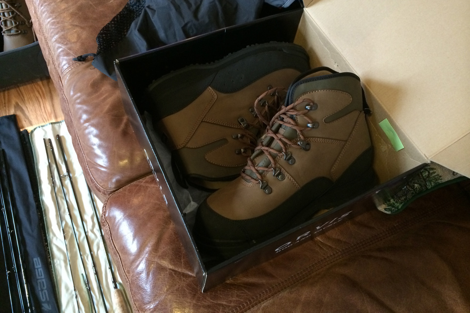 My New Orvis Wading Boots