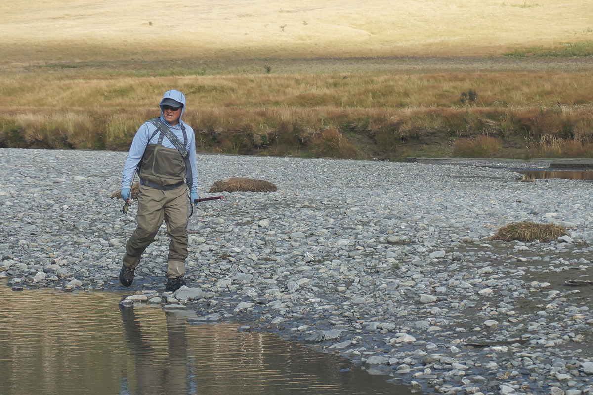 Spotting Fish, Well Trying, Fly Fishing New Zealand