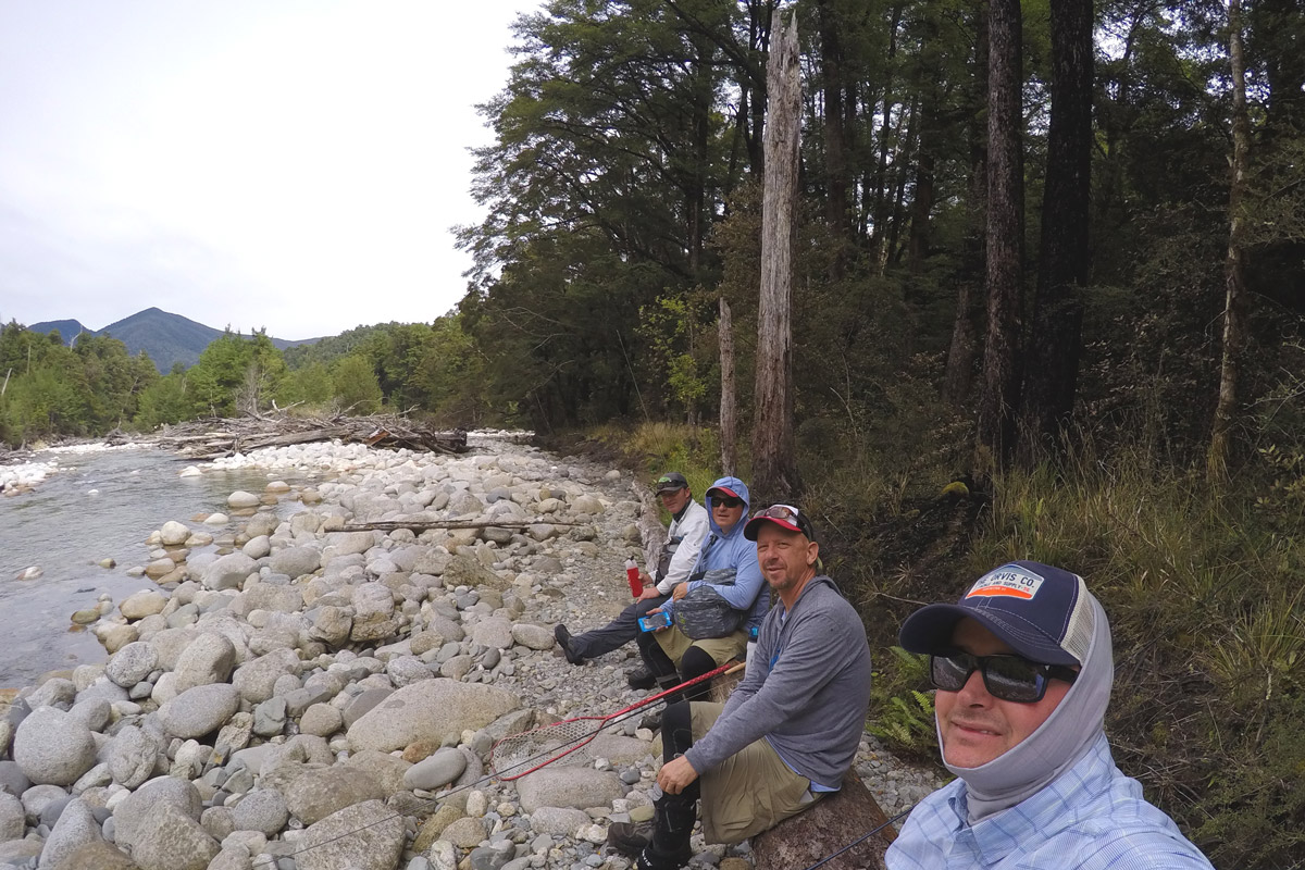 Fish Count - 1, New Zealand Backcountry Fly Fishing