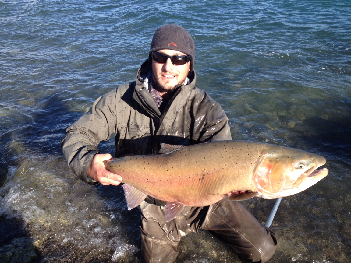 Some Days - Pyramid Lake - Lahontan Cutthroat Trout - Bumpy Water